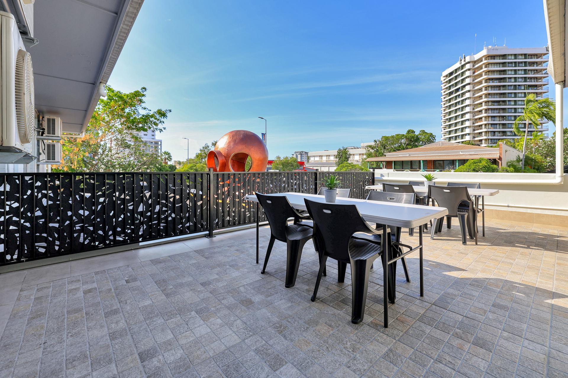 Darwin hotel room with Terrace
